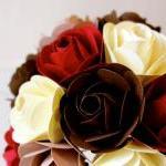 Paper Rose Bouquet, Toss Bouquet, R..