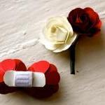 Paper Rose Bouquet - Bridal Bouquet..