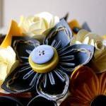 Paper Flower Bouquet, Wedding, Yell..