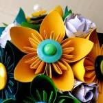 Paper Flower Bouquet, 3 Bridesmaid ..