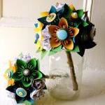 Paper Flower Bouquet, Toss Bouquet,..