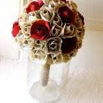 Paper Flower Bouquet, Wedding, Book..